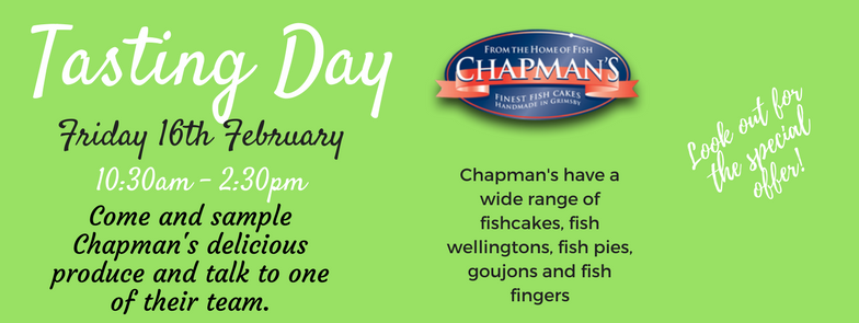 Chapmans Tasting Day