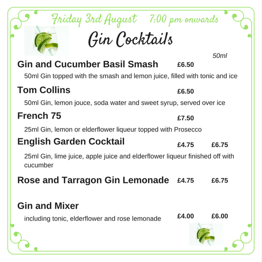 Gin Cocktails web